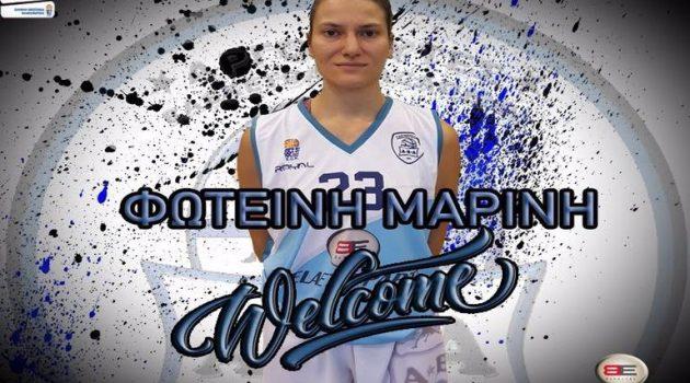 A2 Μπάσκετ Γυναικών: Απέκτησαν τη Φωτεινή Μαρίνη οι Αργοναύτες Αγρινίου
