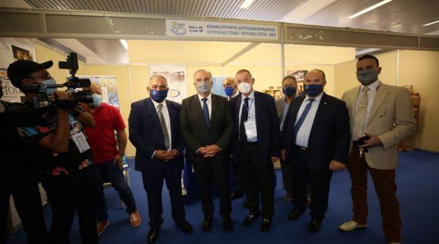 Συμμετοχή του Επιμελητηρίου Αιτωλοακαρνανίας στην 85η Δ.Ε.Θ. (Photos)