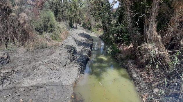 Συνεχίζονται οι καθαρισμοί ποταμών και ρεμάτων από την Π.Δ.Ε.