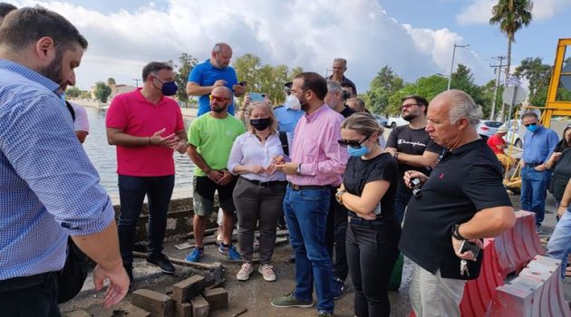 Γεφύρια Αιτωλικού: Επίσπευση της αποκατάστασης ζήτησε ο Νεκτάριος Φαρμάκης