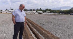 Διαμορφώσεις χώρου κοιμητηρίων στον Δήμου Αγρινίου (Photos)