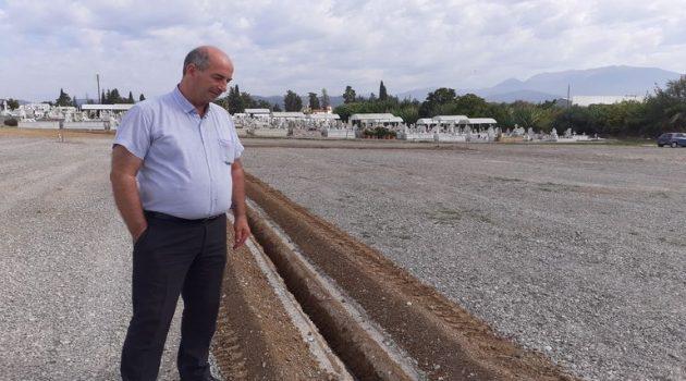 Διαμορφώσεις χώρου κοιμητηρίων στον Δήμο Αγρινίου (Photos)