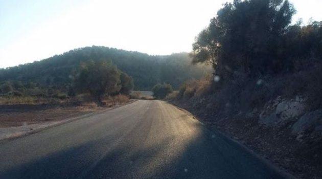 Με γρήγορους ρυθμούς η ασφαλτόστρωση του δρόμου Παλαιομάνινα – Σουπί (Photos)