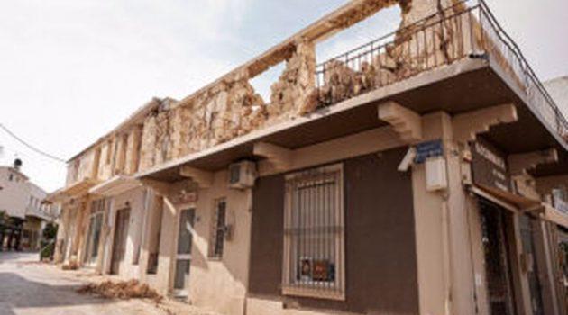 Σεισμός στην Κρήτη: Μη κατοικήσιμα 359 κτίσματα σε 415 αυτοψίες