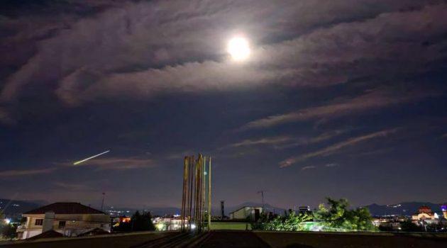 Μετεωρίτης «έσκισε» τον ουρανό της Ελλάδας (Video – Photos)