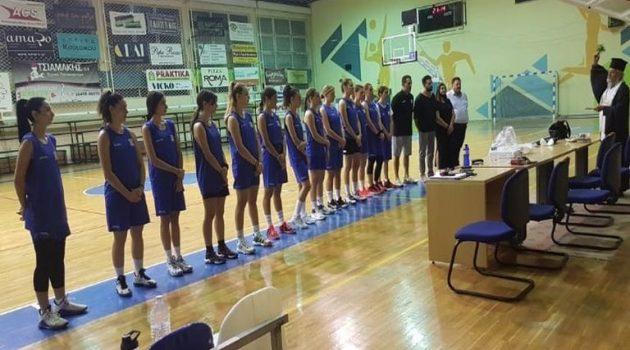 Αγιασμός για την ομάδα μπάσκετ γυναικών των Αργοναυτών Αγρινίου (Photos)