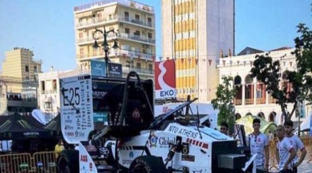 Καρτ Πάτρας: Το όχημα του Πανεπιστημίου έφυγε από την πίστα