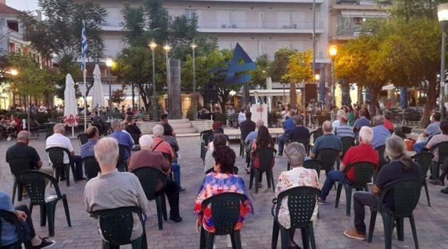 Αγρίνιο: Εκδήλωση για την Απελευθέρωση στο Μνημείο των απαγχονισμένων (Videos – Photos)
