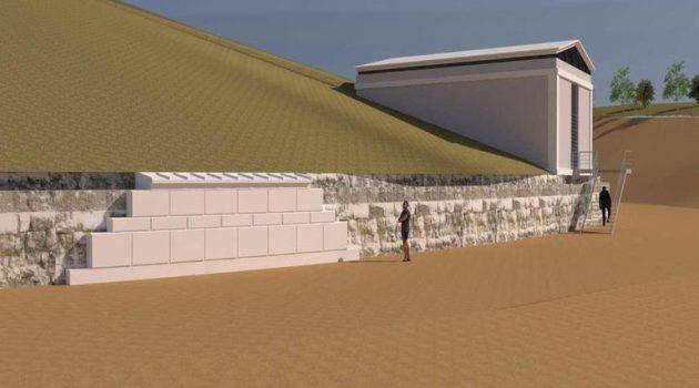 Αμφίπολη: Αυτό θα είναι το εξωτερικό κέλυφος στον τύμβο Καστά (Photos – Video)