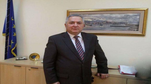 Ο Αθ. Τορουνίδης αναλαμβάνει προσωρινά Πρόεδρος της Ρυθμιστικής Αρχής Λιμένων