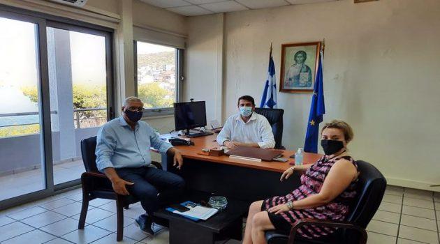 Δημαρχείο Αμφιλοχίας: Συνάντηση του Γιώργου Κατσούλα με τον Μιχάλη Σταυριανουδάκη