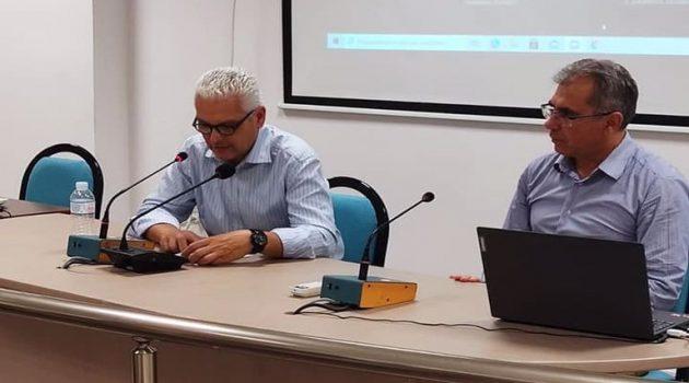 Ενημέρωση για εν εξελίξει έργα και δράσεις στη συνεδρίαση της Σ.Ε.Α.Δ.Ε. στον Δήμο Ερυμάνθου
