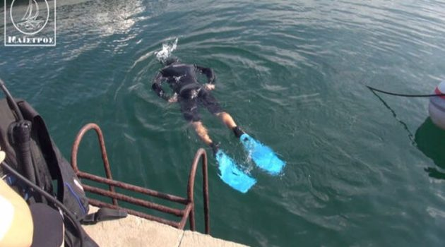 Πραγματοποιήθηκε ο υποβρύχιος καθαρισμός στην παραλία της Αμφιλοχίας (Video)