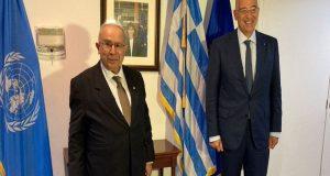 Nίκος Δένδιας: Συνάντηση με τον Αλγερινό ΥΠ.ΕΞ. με θέμα τη…