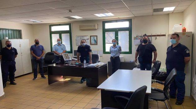 Ψηφιακές κάμερες και ηλεκτρονικές κλειδαριές στα κρατητήρια της Ακαρνανίας
