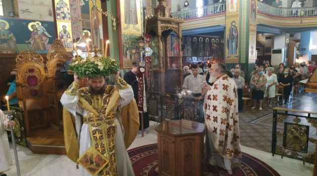 Ι.Ν. Αγίας Τριάδος Αγρινίου: Εορτή Παγκοσμίου Υψώσεως του Τιμίου και Ζωοποιού Σταυρού (Photos)