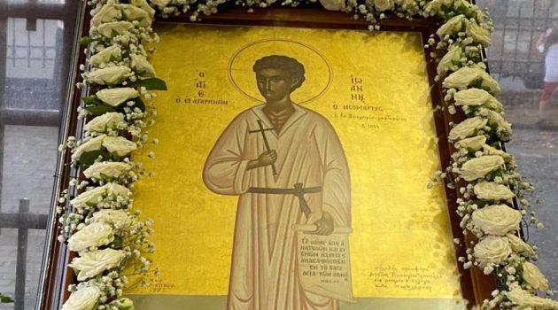 Ο Άγιος Ιωάννης ο Βραχωρίτης