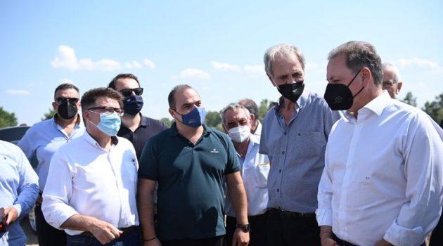 Λιβανός: «Ξεκινά το αρδευτικό έργο Ερυθροποτάμου που θα ωφελήσει 5000 αγρότες»