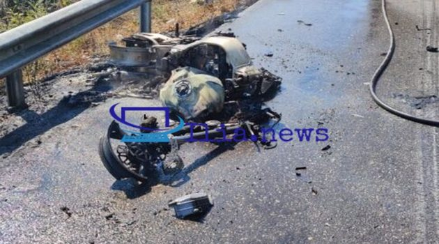 Νεκρός οδηγός μοτοσικλέτας στο ύψος της Γαστούνης (Video)