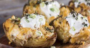 Πατάτες φούρνου με τυριά