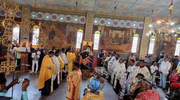 Κουρά μοναχού στην Ιερά Μητρόπολη Κανάγκας (Photos)