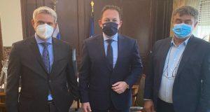 Συνάντηση Καραγκούνη, Πέτσα και Αποστολάκη για θέματα του Δήμου Ακτίου-Βόνιτσας