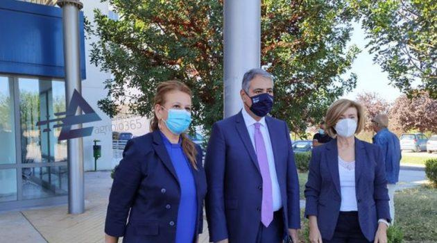 Γιάννης Καρβέλης: «Σήμερα κάνουμε μία επανεκκίνηση στη Μ.Ε.Θ. Αγρινίου» (Videos – Photos)