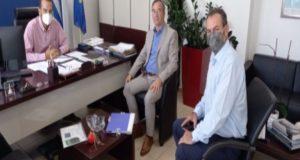 Συνάντηση στελεχών της Παράταξης Κασόλα με τον Ν. Φαρμάκη