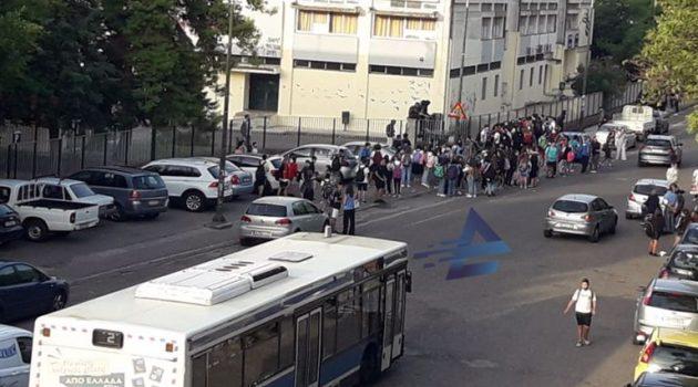 Αγρίνιο: Μαθητές Γυμνασίων και Λυκείων κάνουν κατάληψη από την πρώτη κιόλας εβδομάδα (Photos)