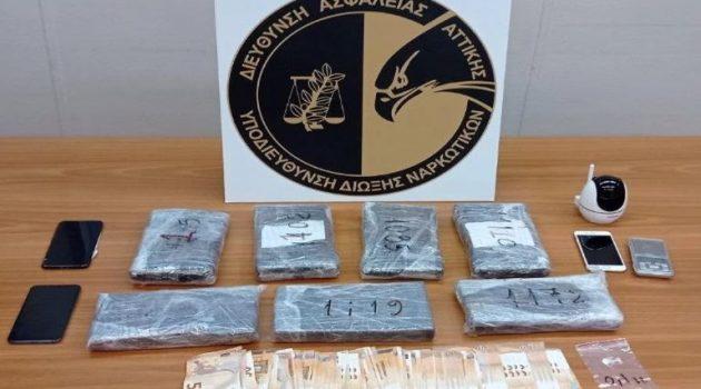 To χρονικό της σύλληψης για τα σχεδόν 8 κιλά κοκαΐνης