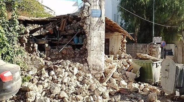 Σεισμός: Μεγάλες ζημιές στο Αρκαλοχώρι και πληροφορίες για εγκλωβισμένους (Photos)