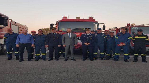 Επίσκεψη Σπ. Λιβανού στο νέο κτίριο διοίκησης των Π.Υ. Αιτωλοακαρνανίας (Photos)