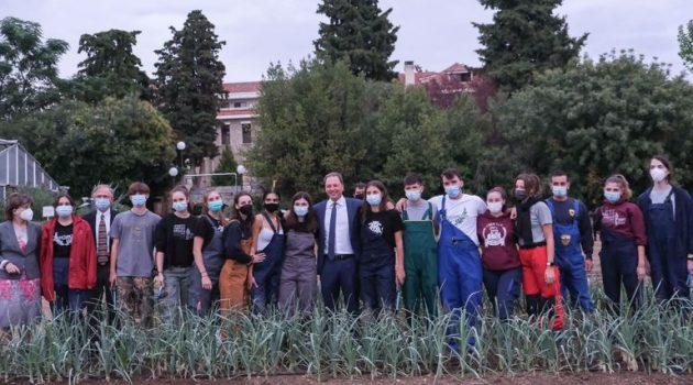 Σπ. Λιβανός: «Υπόδειγμα για την αγροτική εκπαίδευση η Α.Γ.Σ. Θεσσαλονίκης» (Photos)