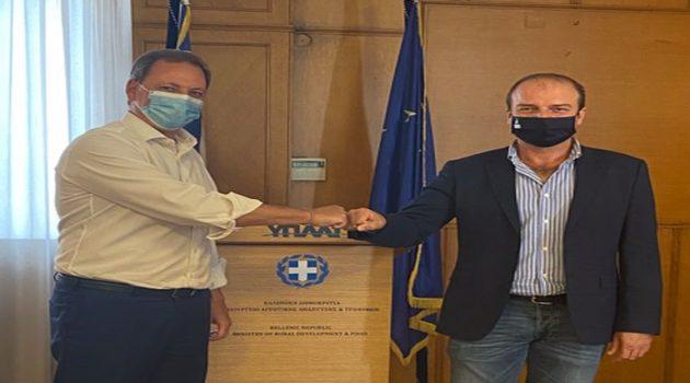 Εντολή Λιβανού για επιτάχυνση εργασιών του αρδευτικού Ταυρωπού