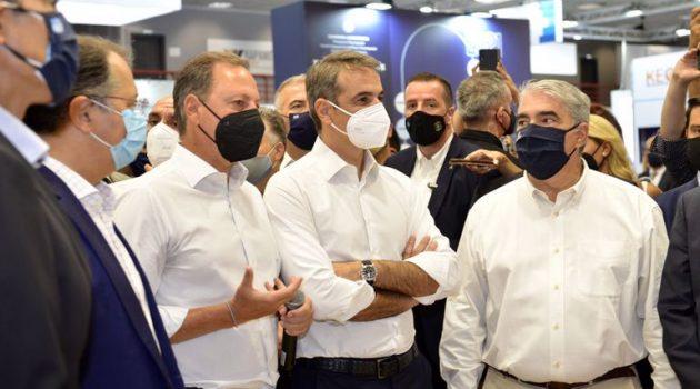 Επίσκεψη του Πρωθυπουργού στο περίπτερο του ΥΠ.Α.Α.Τ. (Photos)