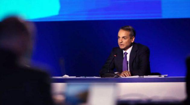 H Συνέντευξη Τύπου του Πρωθυπουργού Κυριάκου Μητσοτάκη στη Δ.Ε.Θ. 2021