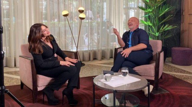 Η Μόνικα Μπελούτσι στον Νίκο Μουτσινά: «Οι Ιταλοί είναι σαν τους Έλληνες»