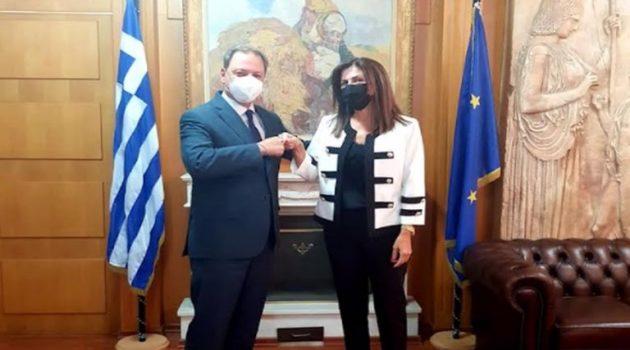 Η Γεωργία Μπόκα Αντιπρόεδρος του ΕΛ.Γ.Ο. «Δήμητρα»