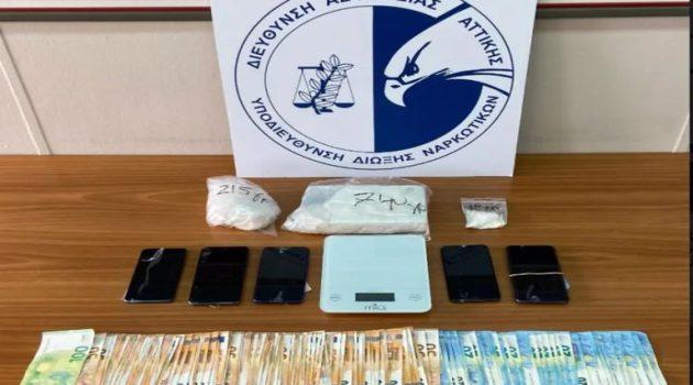 Εξαρθρώθηκε σπείρα ναρκωτικών στην Αττική – Πέντε συλλήψεις