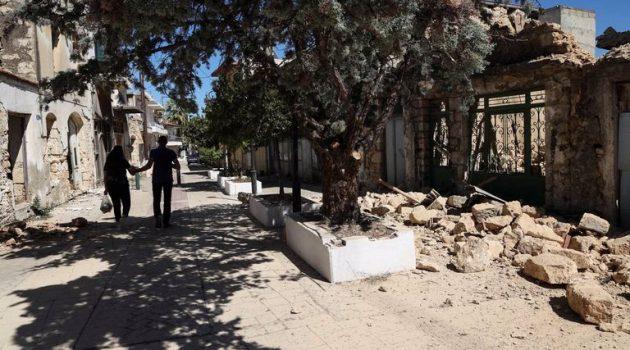 Νέος ισχυρός σεισμός 5,3 Ρίχτερ στην Κρήτη!