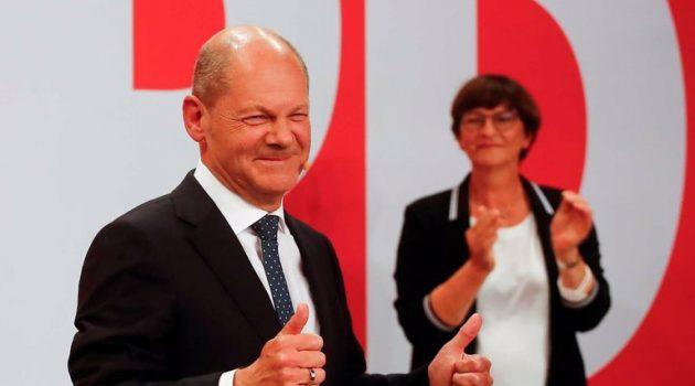 Γερμανία: Μεγάλος νικητής ο Όλαφ Σολτς – Το SPD επικρατεί μετά από 16 χρόνια (Video)