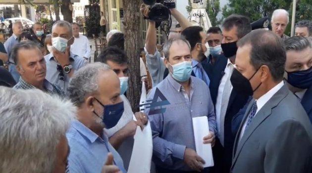 Αγρίνιο: Σε καλό κλίμα τα είπαν Λιβανός και αγρότες της Ο.Α.Σ. Αιτωλ/νίας (Video – Photos)