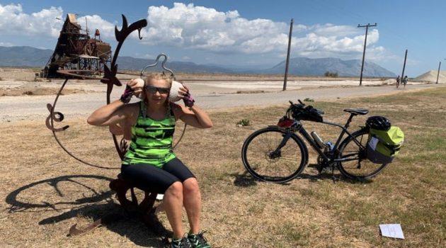 Μεσολόγγι – Οδοιπορικό με ποδήλατο: Τα φλαμίνγκο, οι πελάδες και τα λασπόλουτρα (Photos)