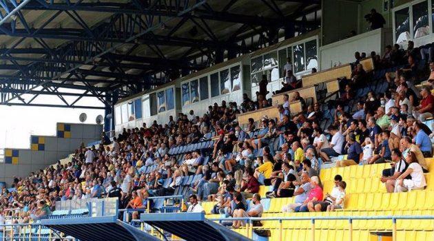 Αγρίνιο – Γήπεδο Παναιτωλικού: Φίλαθλοι στις κερκίδες έπειτα από 18 μήνες