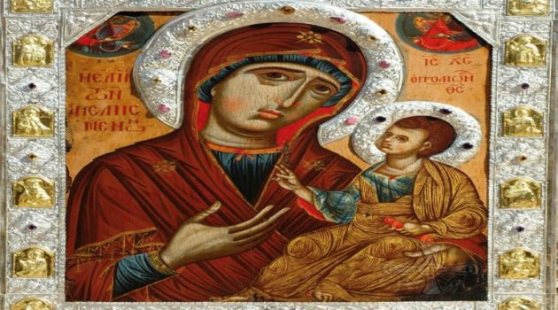 Πρόγραμμα Ιεράς Πανηγύρεως επί τη Εορτή της Συνάξεως της Παναγίας της Μυρτιωτίσσης