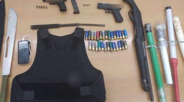 Συνελήφθη άνδρας στην Πάτρα για παράβαση του νόμου τα όπλα