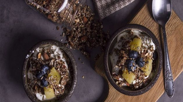 Γκρανόλα με ξηρούς καρπούς χωρίς προσθήκη ζάχαρης