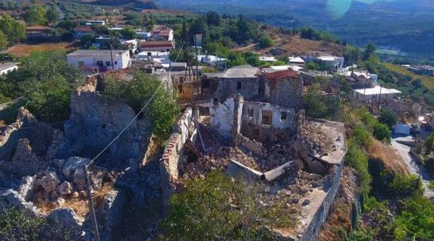 Σεισμός στο Ηράκλειο: Εικόνες από drone αποτυπώνουν το μέγεθος της καταστροφής