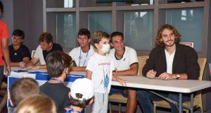 Davis Cup: Έφτασε στην Κρήτη ο Στέφανος Τσιτσιπάς