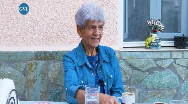 Η Greek mama της Αμερικής  μιλάει για την ζωή στον Σταθά Αιτωλοακαρνανίας (Video)